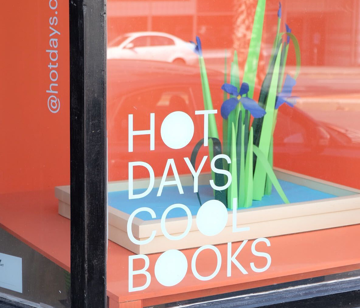Hot Days Cool Books Pop Up 002